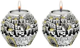 Подсвечники Jerusalem Ball Silver