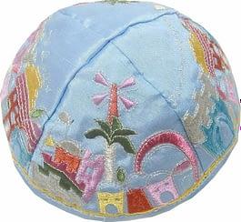 Кипа из ткани Kippah - 5 видов