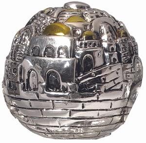"""Серебренный сувенир """"Иерусалим"""""""